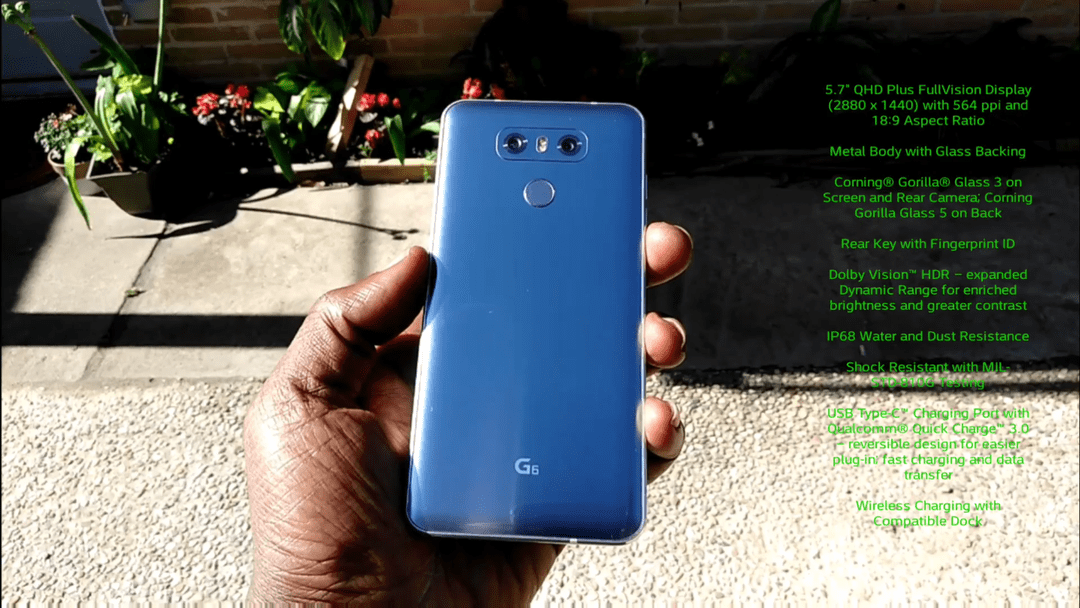 LG G6 Quick Look