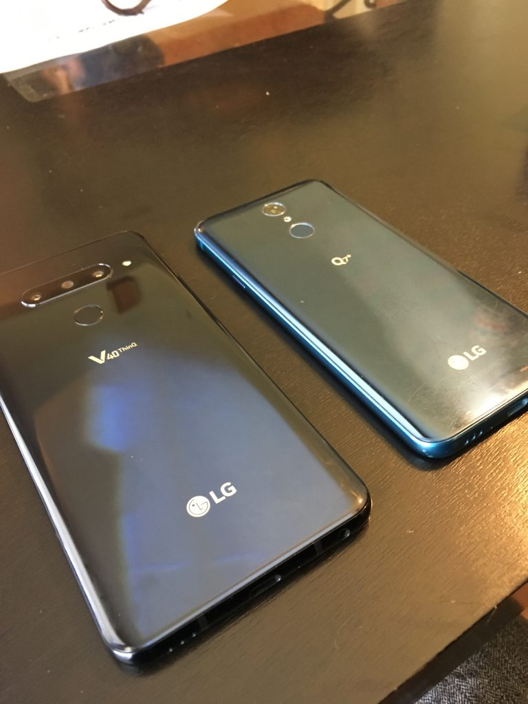 The LG V40 ThinQ and it's Five Camera Lenses