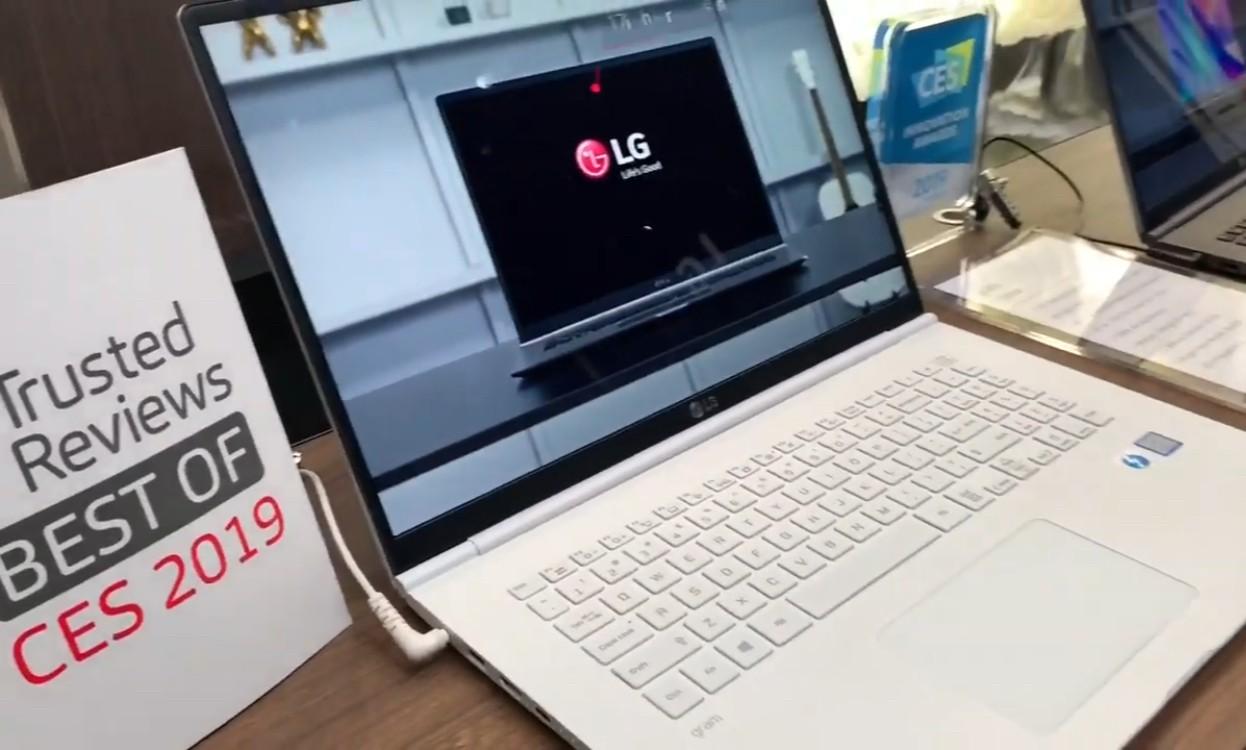 LG Gram wins CES 2019 Innovation Award