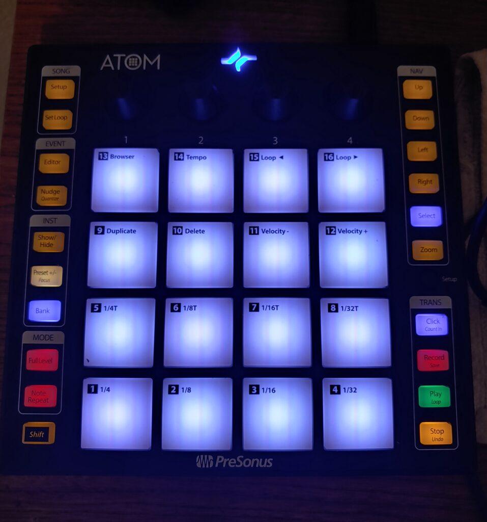 Presonus ATOM Pad Controller : Premium Affordability